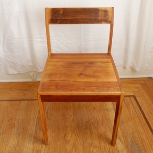 The Rustic Wood Chair