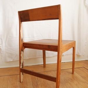 Rustic Wood Chair2