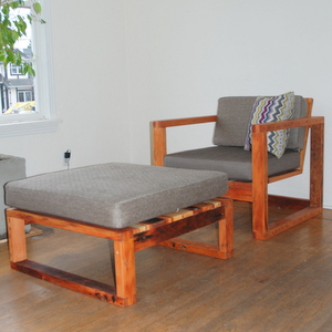 Vintage Modern Armchair 1